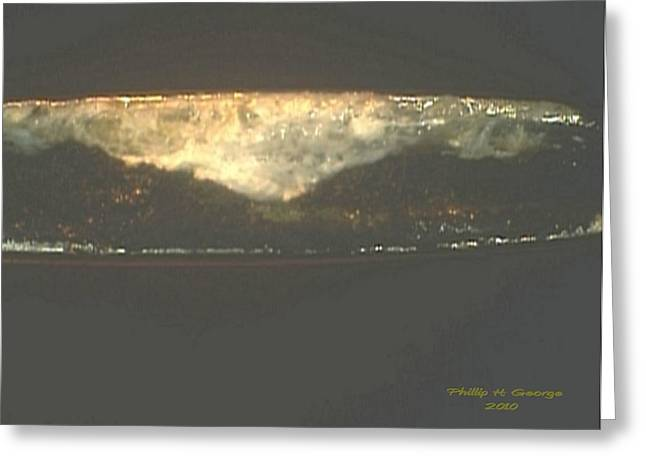Donee New River Thundercloud Greeting Card by Phillip H George