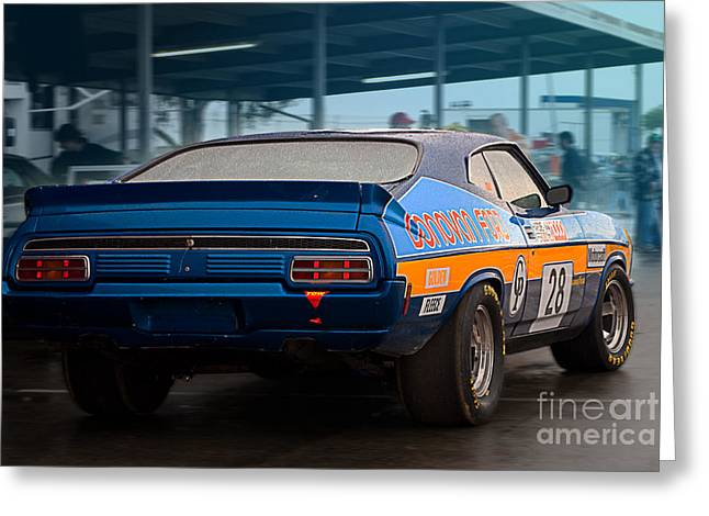 Ford Falcon Coupe Greeting Cards - Donovan Ford Greeting Card by Stuart Row