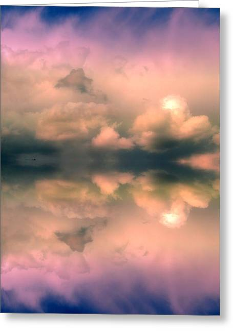 Reflecting Water Greeting Cards - Dont Forget to Breathe Greeting Card by Tara Turner