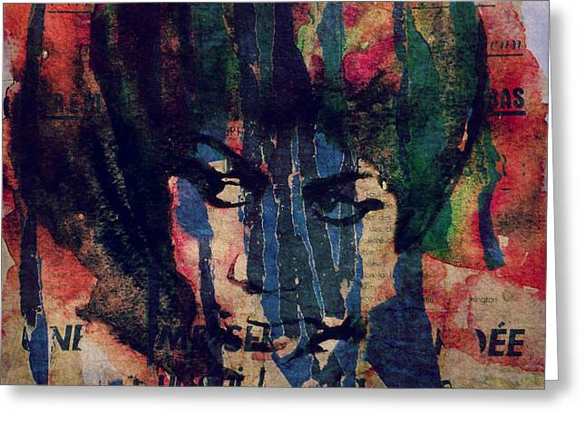 Don't Play That Song  Greeting Card by Paul Lovering