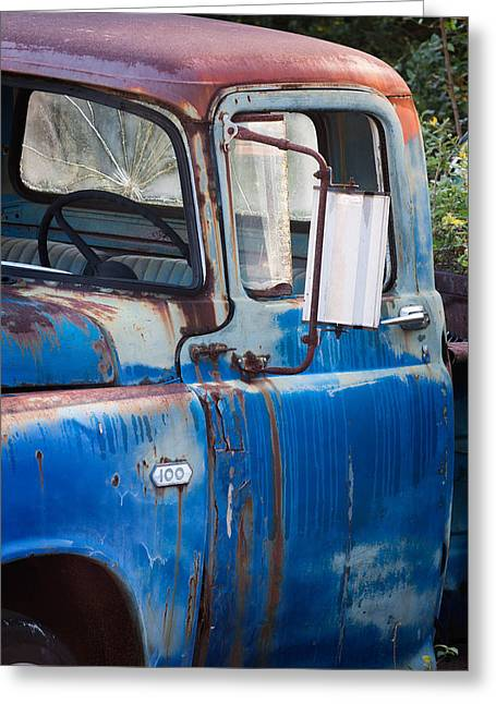 Rusted Cars Greeting Cards - Dooge 100  Greeting Card by Harold Stinnette