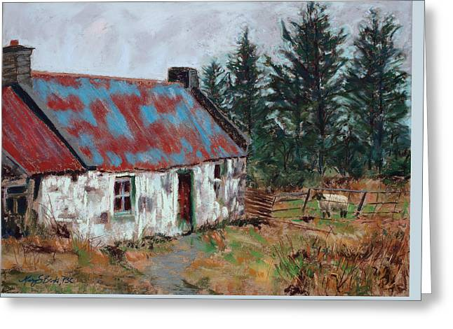 Loveland Artist Greeting Cards - Dooish Hill Donegal Ireland Greeting Card by Mary Benke
