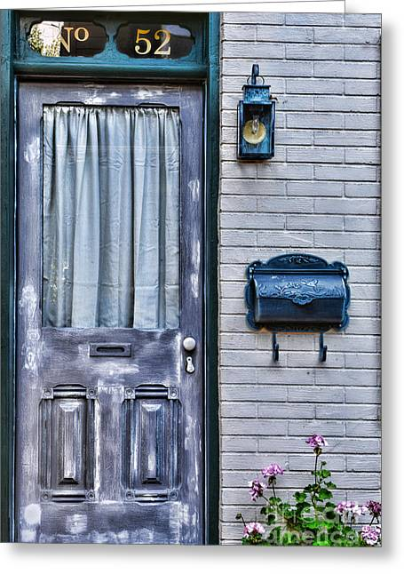 Door 52 Greeting Card by Paul Ward