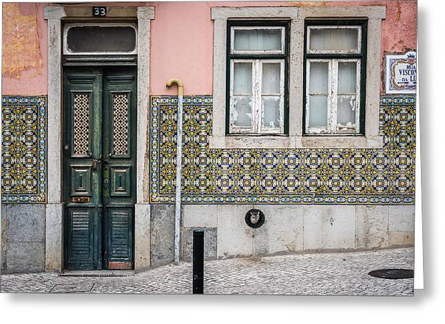 Old Door Greeting Cards - Door No 33 Greeting Card by Marco Oliveira