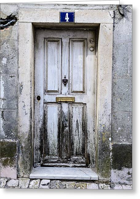 Door No 4 Greeting Card by Marco Oliveira