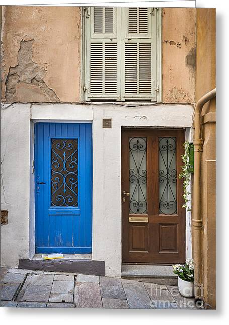 Doors And Window Greeting Card by Elena Elisseeva