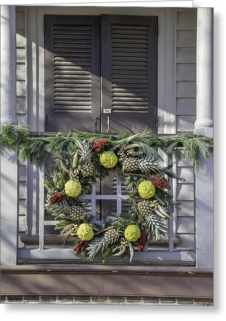 Doors Of Williamsburg 44 Greeting Card by Teresa Mucha