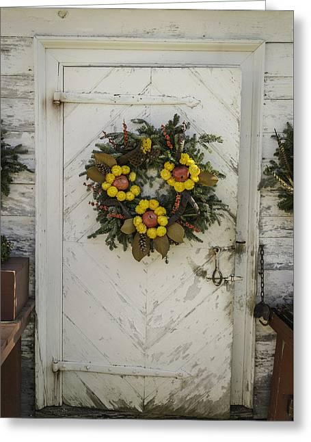 Doors Of Williamsburg 47 Greeting Card by Teresa Mucha