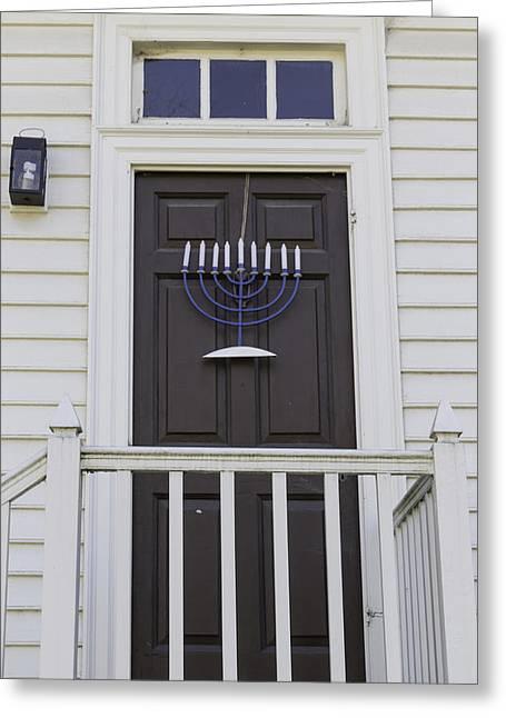 Doors Of Williamsburg 53 Greeting Card by Teresa Mucha