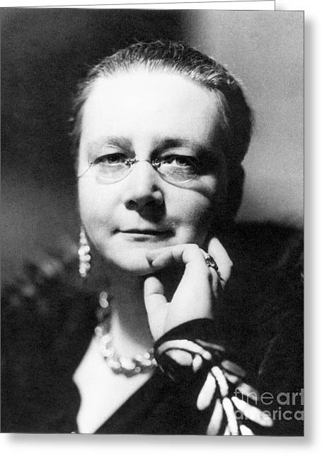 Sayers Greeting Cards - Dorothy L Sayers Greeting Card by Granger
