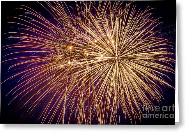 Pyrotechnics Greeting Cards - It Went Boom Greeting Card by Lynn Sprowl