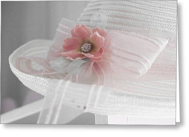 Square Format Greeting Cards - Doucereuse - cc3 Greeting Card by Variance Collections