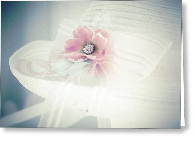 Vintage Hats Greeting Cards - Doucereuse - mm3 Greeting Card by Variance Collections