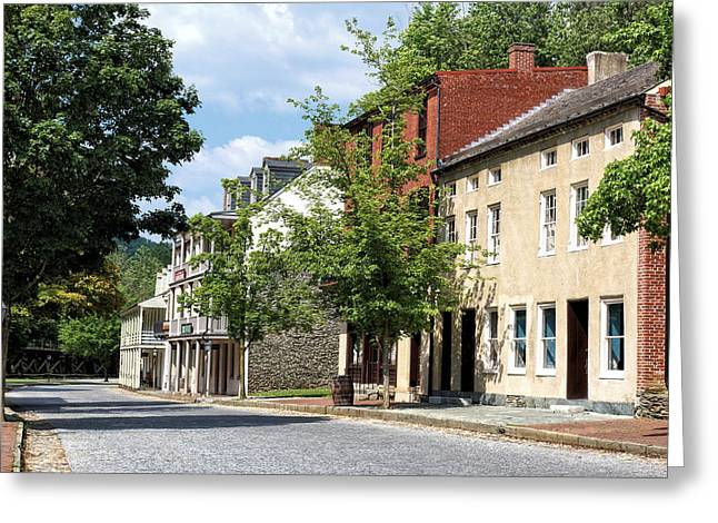 Downtown Harpers Ferry 4 Greeting Card by John Trommer