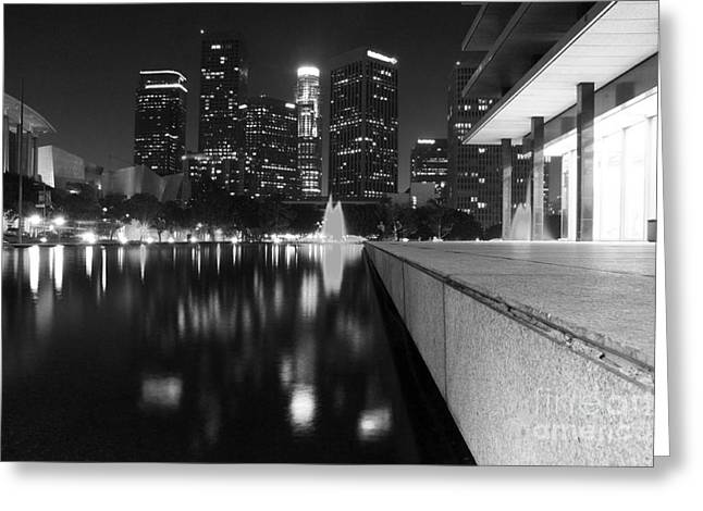 Night Angel Greeting Cards - Downtown Los Angeles 26 Greeting Card by Micah May