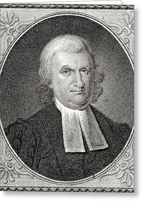 Signatories Greeting Cards - Dr John Witherspoon 1723 To 1794 Greeting Card by Ken Welsh