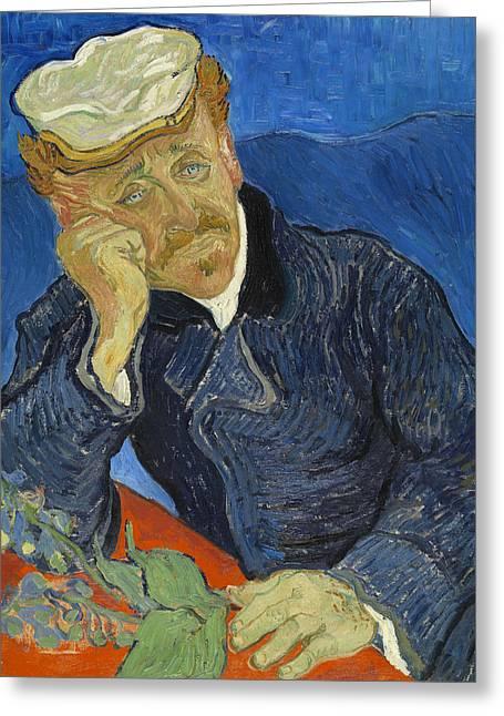 Dr Paul Gachet  Greeting Card by Vincent van Gogh