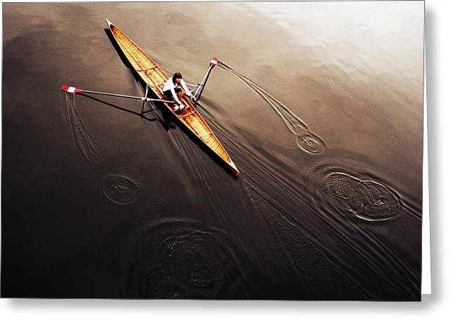 Sports Action Greeting Cards - Dragonfly Greeting Card by Fulvio Pellegrini
