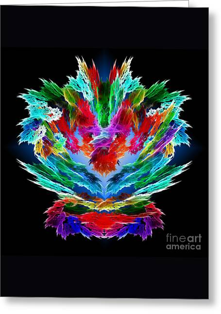Methune Hively Greeting Cards - Dragons Breath Greeting Card by Methune Hively