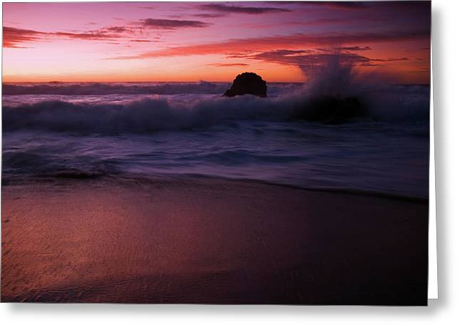Dramatic Serenity Greeting Card by Wayne Stadler