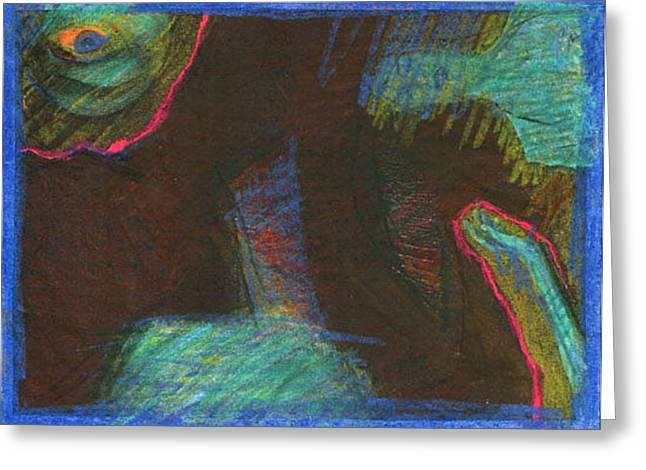 Dream 01 Greeting Card by Michal Rezanka