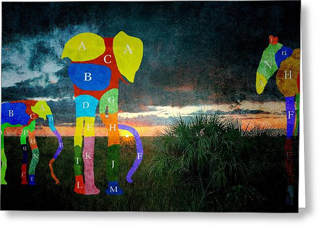 Subconscious Greeting Cards - Dream-3 Greeting Card by Rudy Umans