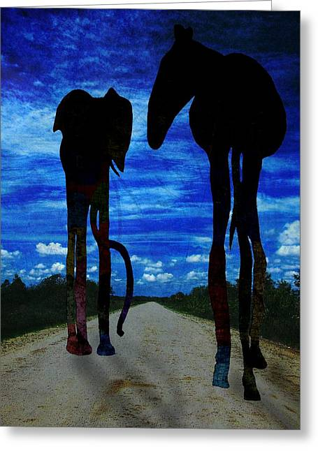 Subconscious Greeting Cards - Dream-6 Greeting Card by Rudy Umans