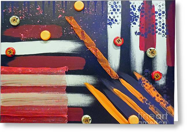 Dream A Crazy Dream Or Two Greeting Card by Jilian Cramb - AMothersFineArt