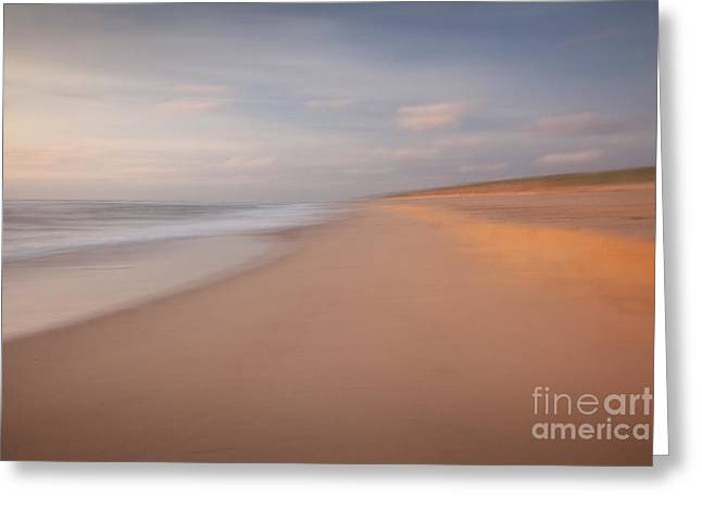 Wild And Scenic Greeting Cards - Dream Beach Greeting Card by Susan Cole Kelly