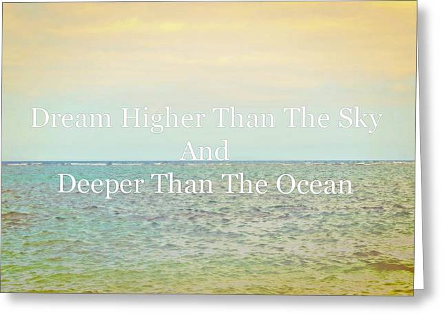 My Ocean Greeting Cards - Dream Greeting Card by Brandy Muses