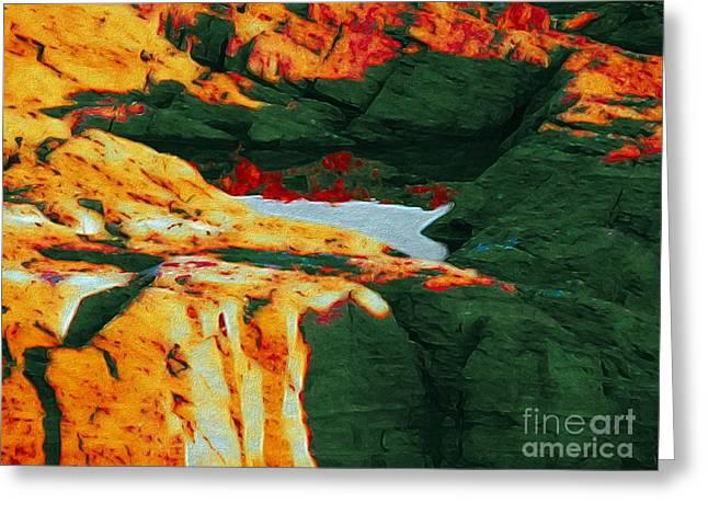 Dream Colors Greeting Card by Marcia Lee Jones