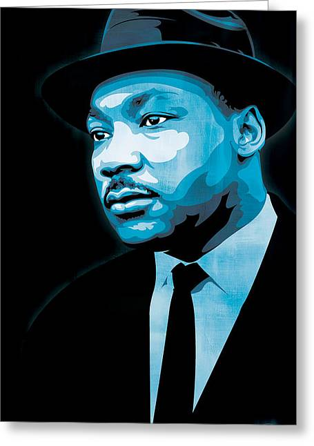 Martin Luther King Jr. Greeting Cards - Dream Greeting Card by Jeff Nichol