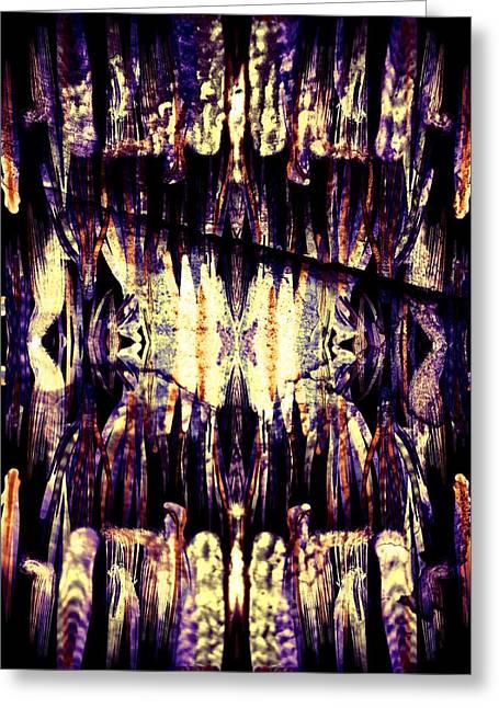 Dream Scape Greeting Cards - Dream Mandala Greeting Card by Susan McClellan