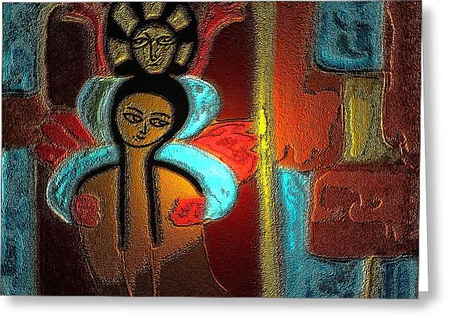 Dream - The Music Of Soul Greeting Card by Latha Gokuldas Panicker