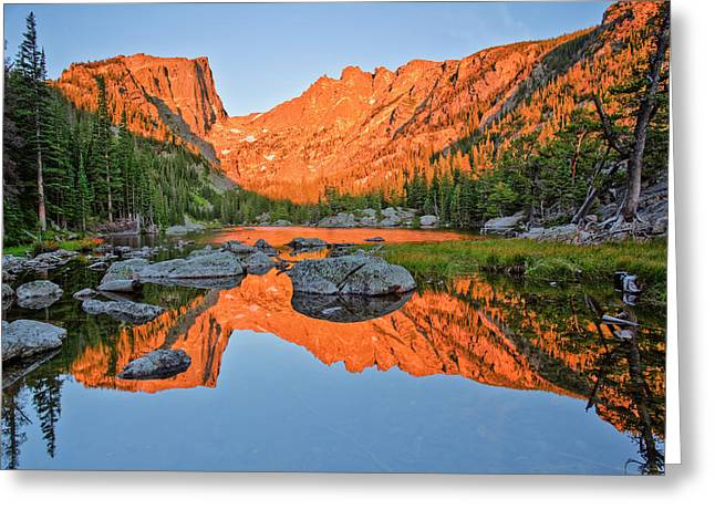 Rmnp Greeting Cards - Dream Within a Dream Greeting Card by Jennifer Grover