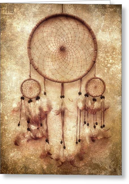 Dreamcatcher Greeting Card by Wim Lanclus