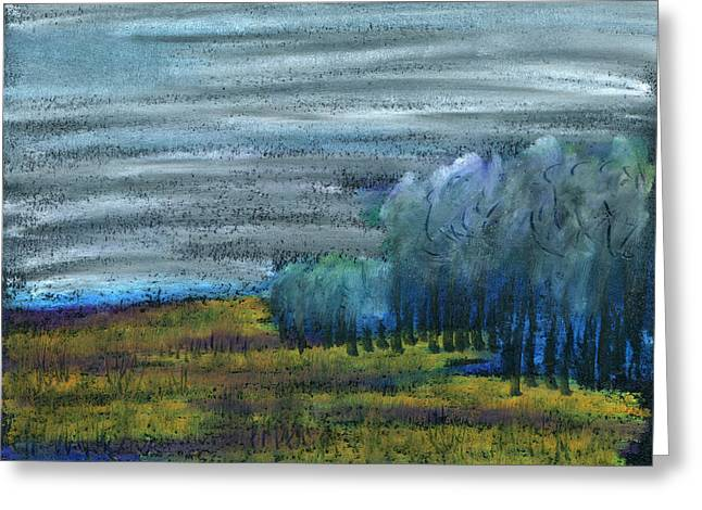 Tree Roots Pastels Greeting Cards - Dreamed Among All Greeting Card by R Kyllo