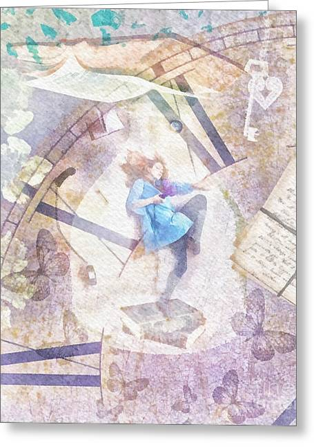 Wishes Greeting Cards - Dreamer Greeting Card by Mo T