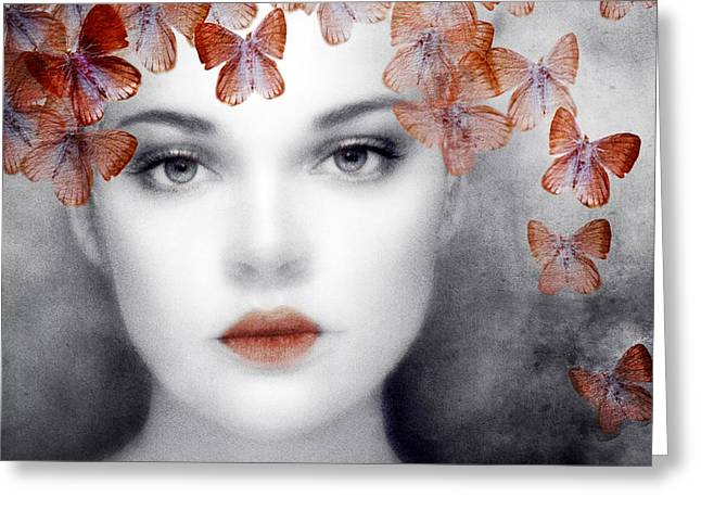 Emotion Art Greeting Cards - Dreamer Greeting Card by Photodream Art
