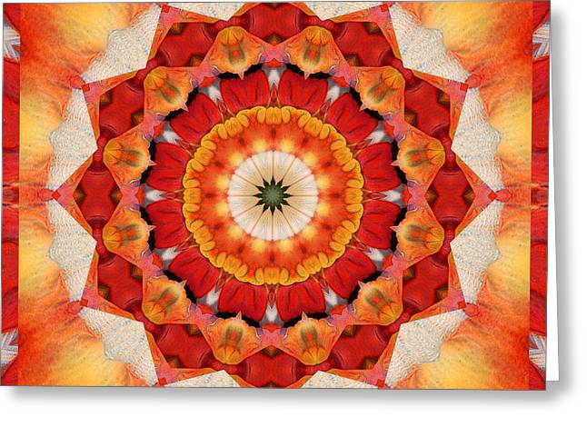 Mandala Photographs Greeting Cards - Dreaming Greeting Card by Bell And Todd