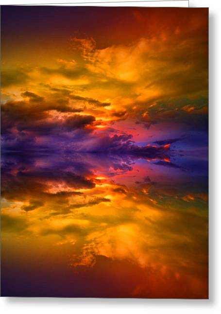 Dream Scape Photographs Greeting Cards - Dreaming Over Water Greeting Card by Tara Turner