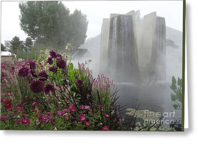 Day Lilly Greeting Cards - Dreams in the Mist Greeting Card by Nancy  DeYoung