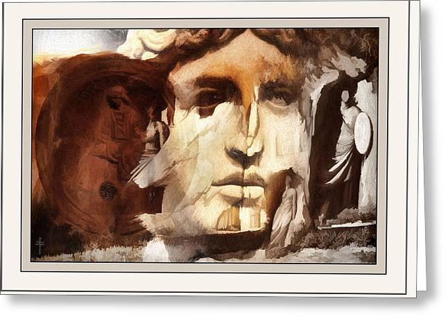 Greek Sculpture Greeting Cards - Dreams Of The Past  Greeting Card by Daniel  Arrhakis