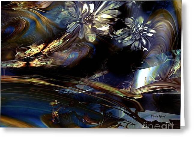 Dreamscape Greeting Card by Doris Wood