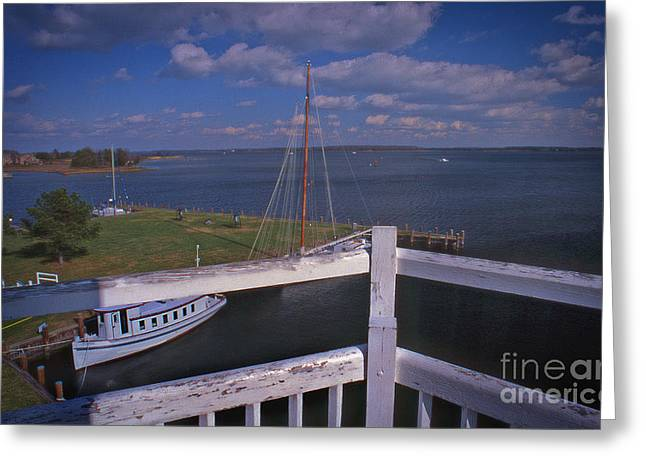 Beach Photography Greeting Cards - Dreamy St Michaels Two Greeting Card by Skip Willits