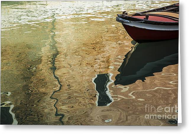 Boat Photographs Greeting Cards - Dreamy waters Greeting Card by Yuri Santin