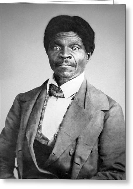 Black History Greeting Cards - Dred Scott Greeting Card by War Is Hell Store