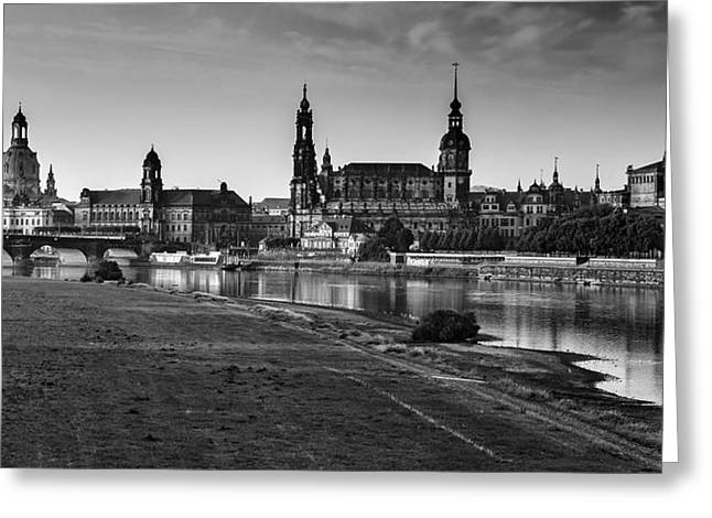 Frauenkirche Greeting Cards - Dresden 04 Greeting Card by Tom Uhlenberg