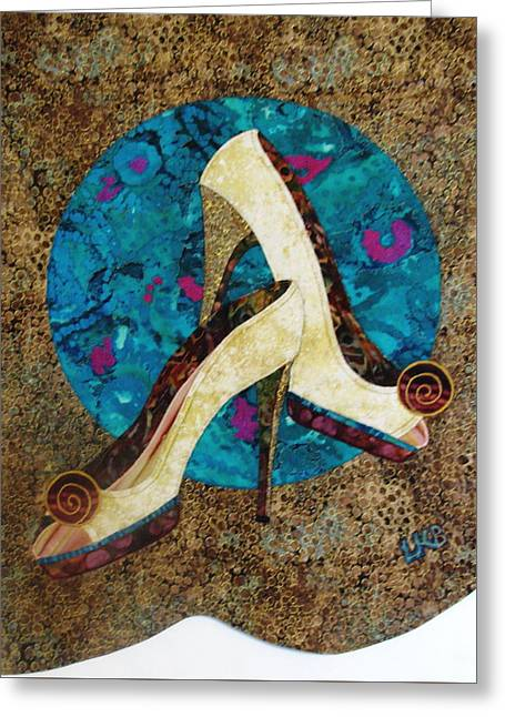 Dressed Up Greeting Card by Lynda K Boardman
