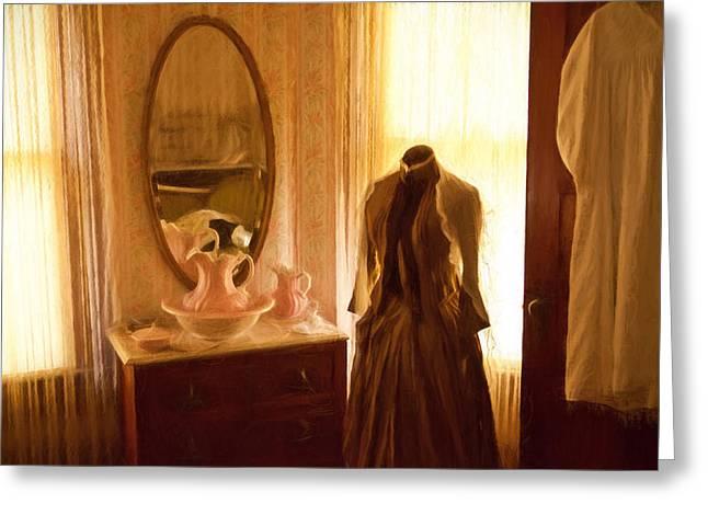 Dressing Room Greeting Card by Jonas Wingfield